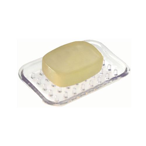 InterDesign Sinkworks Soap Holder - Plastic - Clear