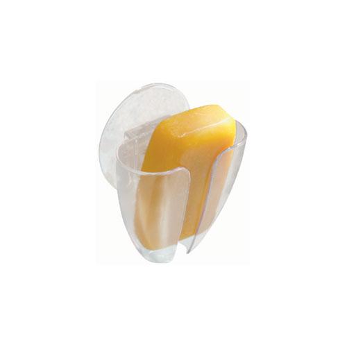 "Plastic Soap Holder - ""Sinkworks"" - Clear"