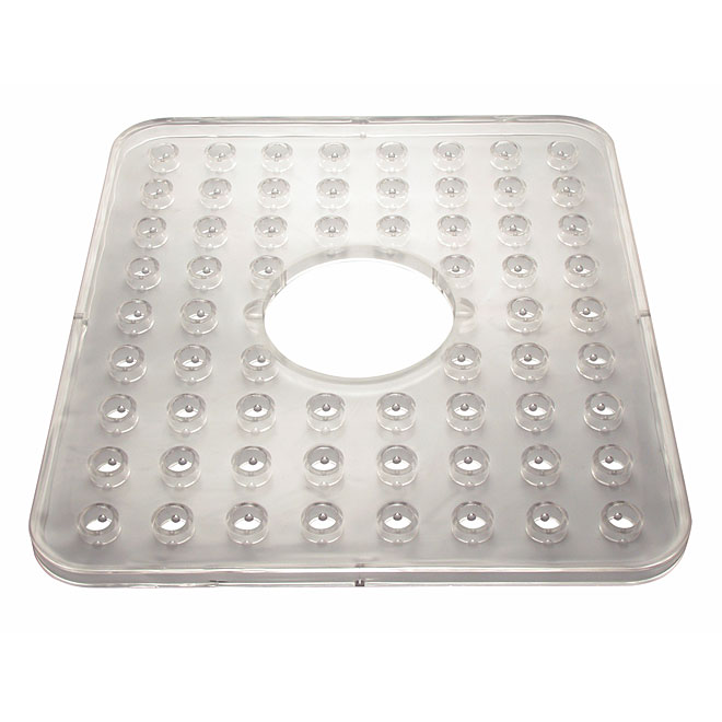 Clear Sink Mat with Hole