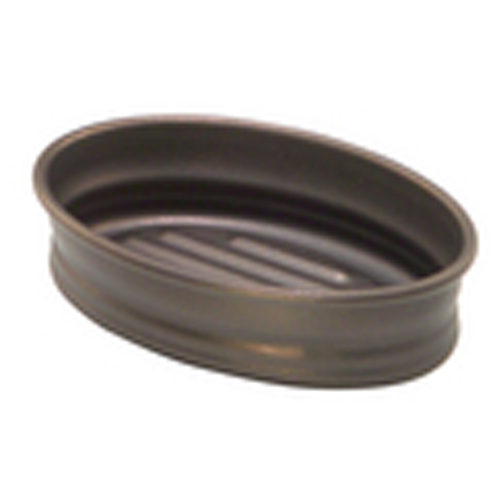 InterDesign Cameo Soap Holder - Bronze - Metal - Decorative