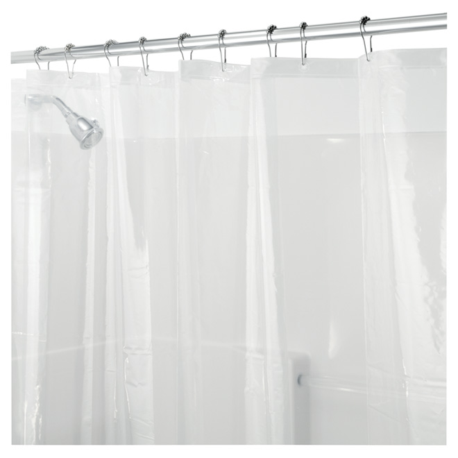 """Shower Curtain Liner - 72"""" x 72"""" - Clear"""