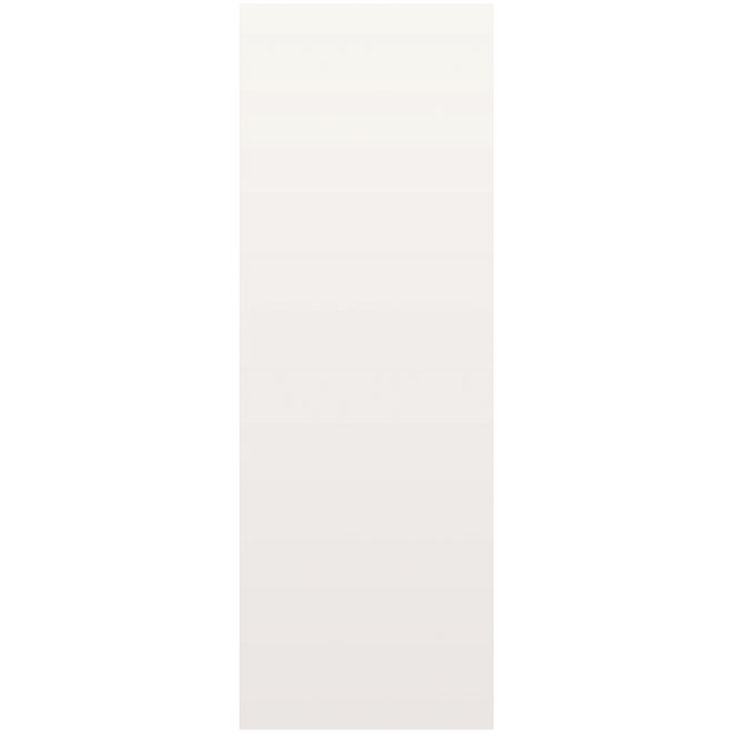 Metrie Door Slab - 28-in x 80-in x 1 3/8-in - Hardboard - Primed