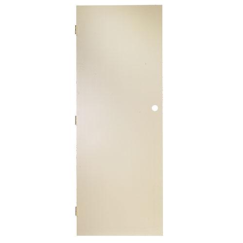 Metrie - Masonite Pre-Machined Door - 32-in x 80-in x 1 3/8-in - Primed Hardboard - White