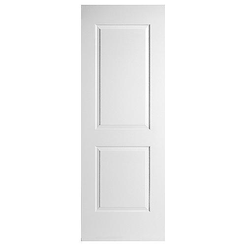 Porte intérieure à 2 panneaux