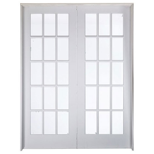 15 Panel Double French Doors 60 X 80 Rona