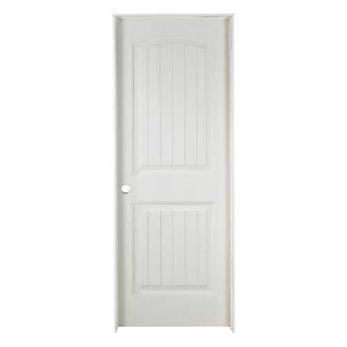 Cheyenne 2 Panel Pre Hung Door 24 X 80 Left Rona