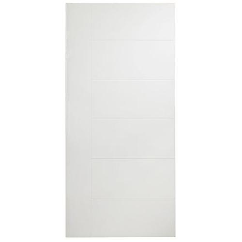 Porte à panneaux Berkley de Masonite, fibre durcie apprêtée, 30 po x 80 po x 1 3/8 po
