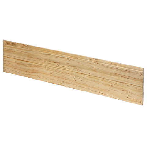 Plinthe Metrie, pin, fini naturel, vendu au pied linéaire
