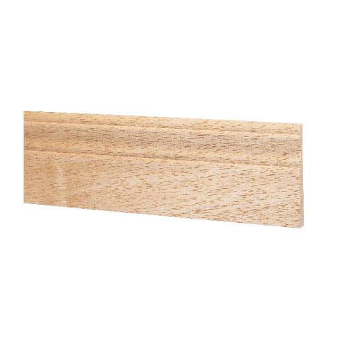 Natural Mahogany Baseboard