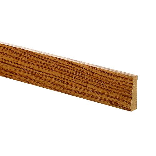 Cadrage Metrie, fini naturel, chêne, 7 pi L.