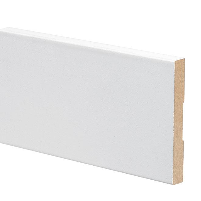Primed MDF Baseboard - Pack of 10