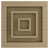 """Very Square"" Poplar Ikon Moulding - 4"""