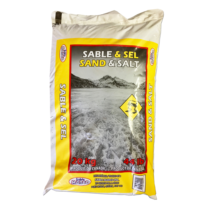 Anti-Skid and De-Icing - Salt and Sand - 20 kg