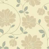 Papier peint « Grandes fleurs »