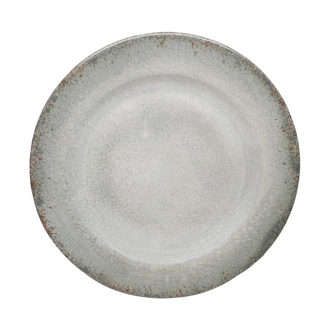 Allen + Roth Dinner Plate  Grey