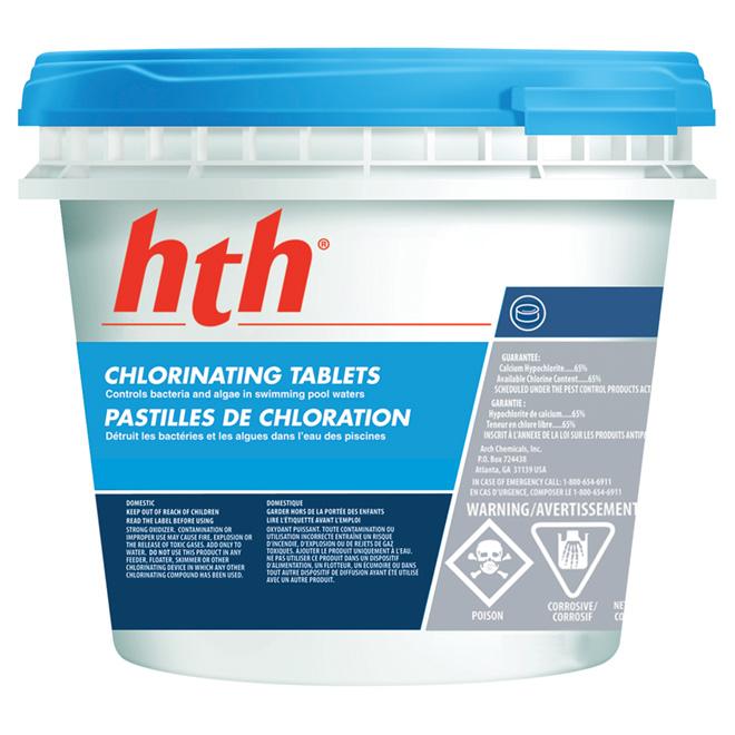 65% chlorine tablets