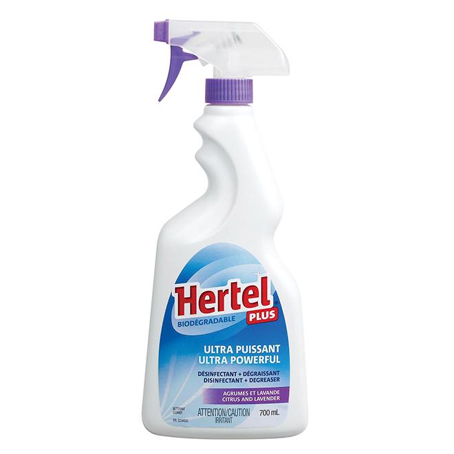 Hertel Plus Cleaner - 700 mL - Citrus and Lavender
