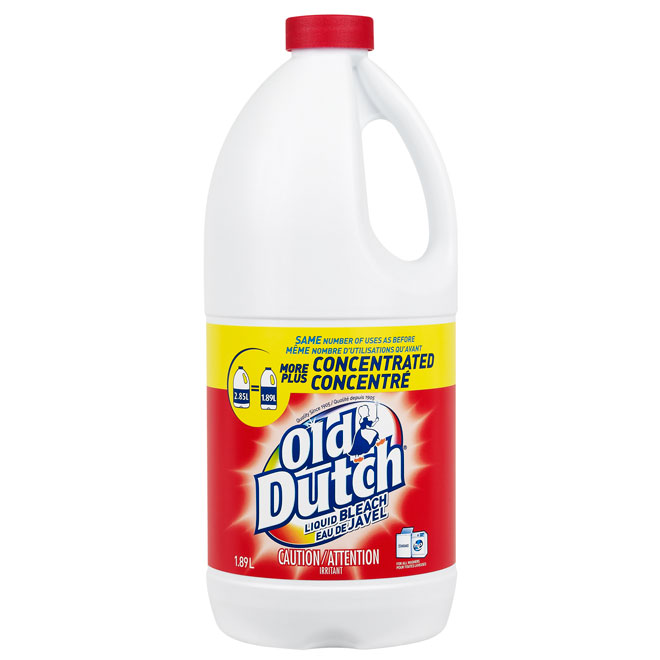 Eau de Javel concentré Old Dutch, 1,89 l