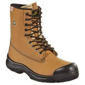 Men's Work Boots - Leather/PU - 8