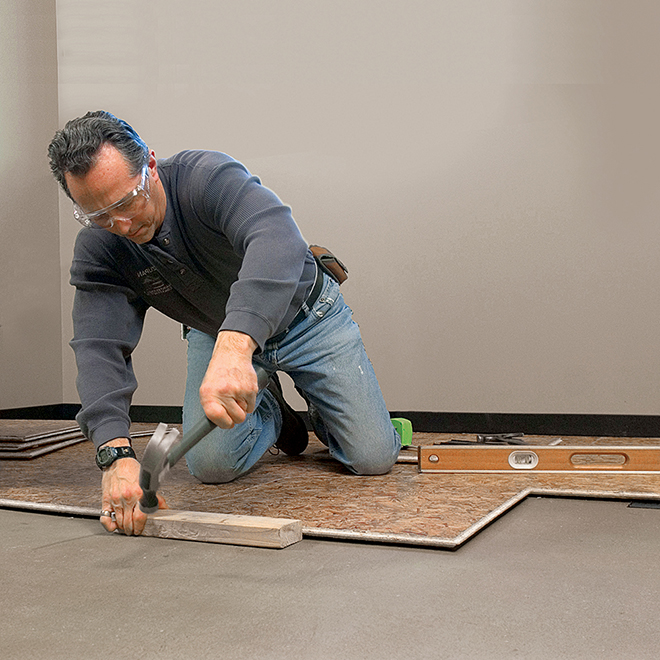 BARRICADE Subfloor Air Plus Panel - Air Gap Technology - 23 5