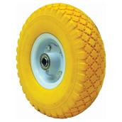 """Flat-Free"" Wheelbarrow Wheel - 4.10/3.50-4 / 10"""
