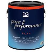 Interior Latex Paint - Pastel Base - Flat - 3.78 L