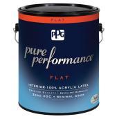 Peinture au latex, base pastel, mat, 946 ml