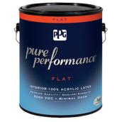 Interior Latex Paint - Midtone Base - Flat - 3.78 L