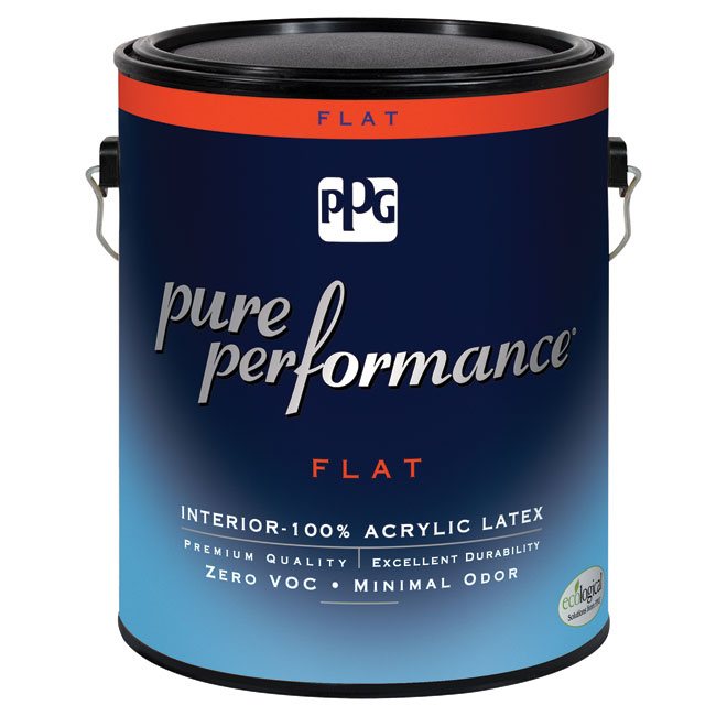 Interior Latex Paint - Midtone Base - Flat - 946 ml