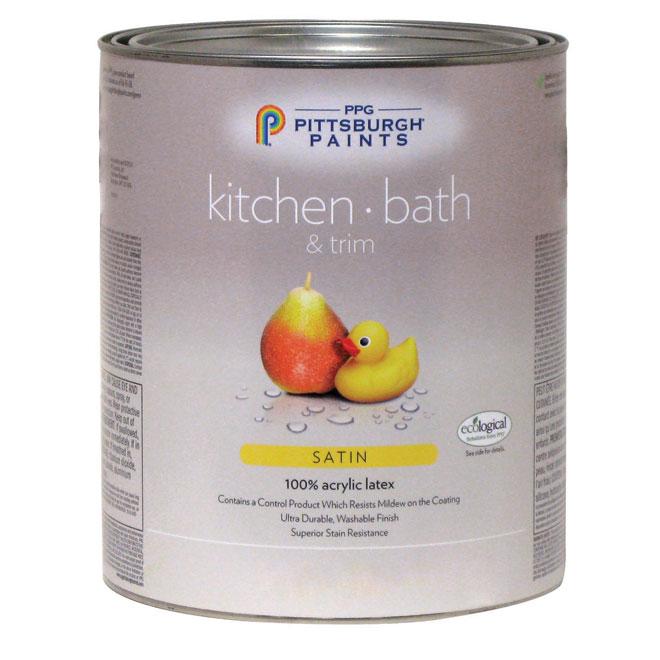Kitchen/Bathroom Latex- Midtone Base - Satin - 946 ml 19-420C/04