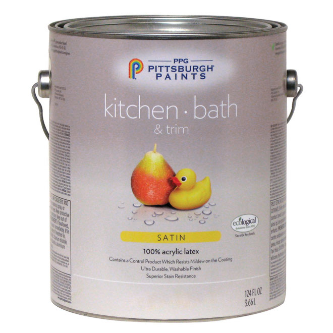 Kitchen/Bathroom Latex - Ultra Deep Base - Satin - 3.78 L 19-440C/01