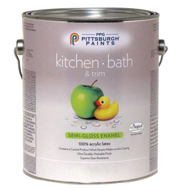 Kitchen/Bathroom Latex- Midtone Base - Semi-Gloss - 3.78 L 19-520C/01