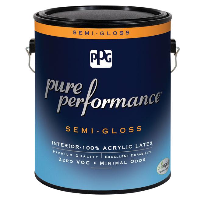 Peinture/apprêt, latex, base pastel, semi-lustré, 3,78 l