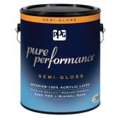 Peinture/apprêt, latex, base pastel, semi-lustré, 946ml