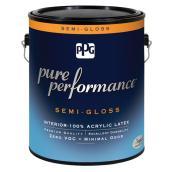 Interior Paint/Primer-Latex -Midtone Base -Semi-Gloss -3.78L