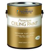 Peinture au latex pour plafond, 3,78 l, blanc mat
