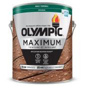 Teinture et scellant d'extérieur pour bois Olympic Maximum, opaque, base 2, 3,78 l