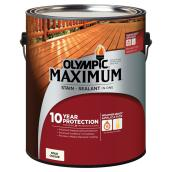 """Maximum"" Stain + Sealant - White -  3.78 L"