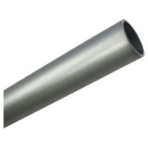 """Tige cylindrique non filetée, aluminium anodisé, 1 1/4"""" X 72"""""""
