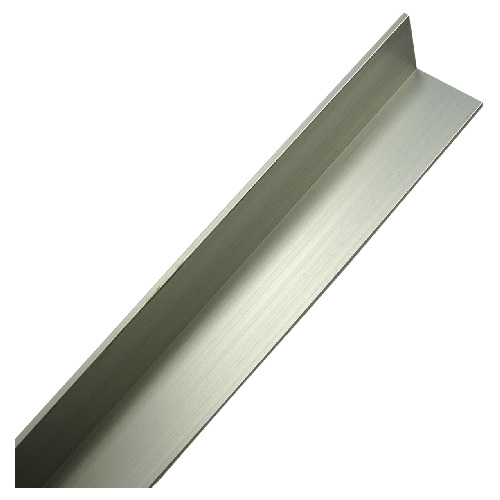 "Angle Bar - 1"" x 48"" x 1/8"" - Anodized Aluminum"