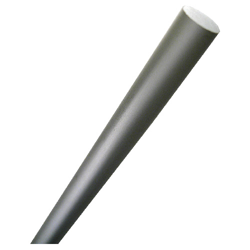 "Unthreaded Cylindrical Rod - 3/8"" x 36"" - Anodized Aluminum"