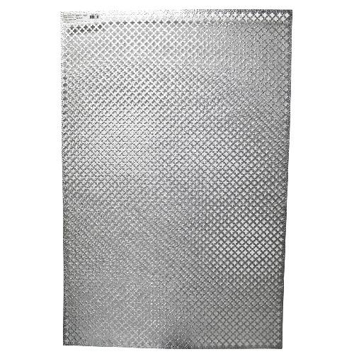 """Feuille d'aluminium décorative, « Feuille de trèfle », 24""""x36"""""""