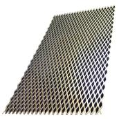 Expanded Metal Sheet - Steel - 1/2