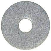 """Rondelle pare-choc, 1/2"""", boîte de 50, zinc"""