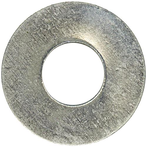 """Flat Washers - Steel - 1/2"""" - Box of 27 - Zinc Finish"""