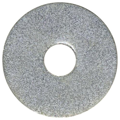 """Rondelle pare-choc en acier, 1/4"""", boîte de 50, zinc"""
