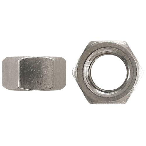 "Steel Hex Nuts - Grade 2 - 1/4""-20 - Box of 50 - Zinc"