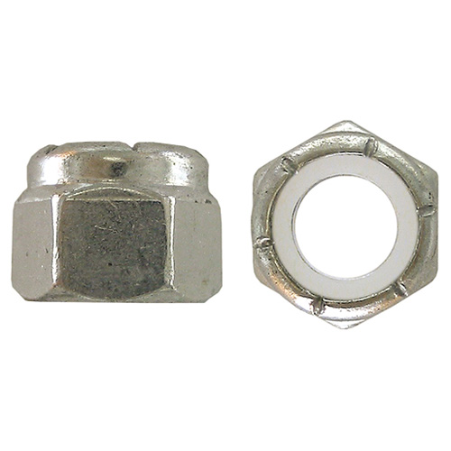 "Lock Nut - 1/4""-20 - 50/Box - Zinc"