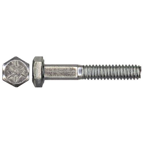 "Steel Hex Bolts - Grade 5 - 1/4"" x 1/2"" - Box of 100 - Zinc"