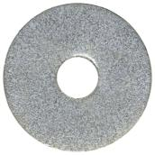 "Steel Fender Washer - 3/8"" - Box of 50 - Zinc"